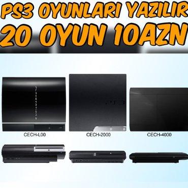 Bakı şəhərində 🔵Her Növ PS3 Modellerine Endirimli Qiymete Oyunların Yazılması... 20