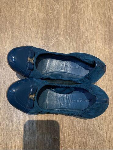 черные женские туфли в Кыргызстан: Туфли балетки женские Франция Луи Виттон оригинал  Удобные, легкие