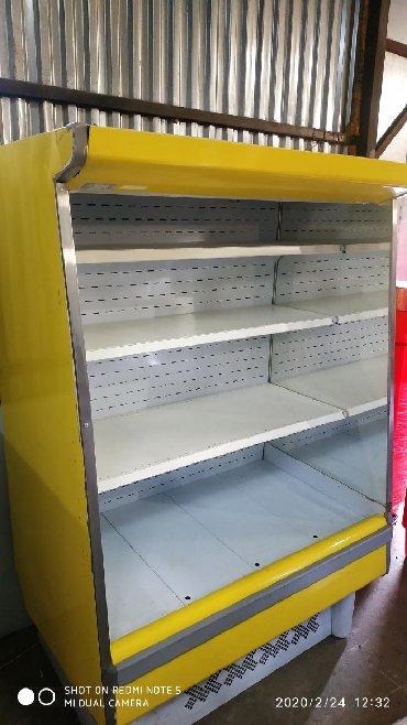 туфельки со стразами в Кыргызстан: Холодильная горка Кифато со встроенным агрегатом. рабочий режим 0.+5