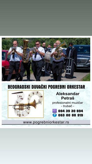 Beogradski sindikat - Srbija: Šabac trubači za sahrane pogrebe orkestar za sahrane, beogradski