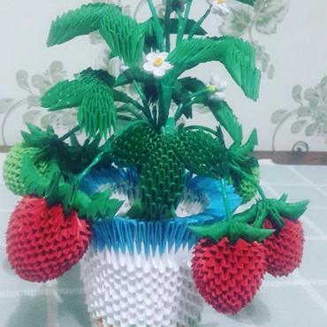 Спрей тонкий вкус - Кыргызстан: 3D origami отличный подарок ценителям ручной работы. цветы, вазы