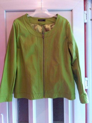 Jakna zelena prelepa boja,nova xxl broj za krupnije dame,jako lepo - Sombor