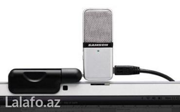 Xırdalan şəhərində Usb studio mikrofon(samson Go mic)Daşınılan bilen, heveskar  sesyazma