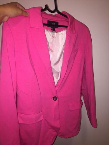 HM, velicina 38, pink sako, nosen nekoliko puta, ocuvan