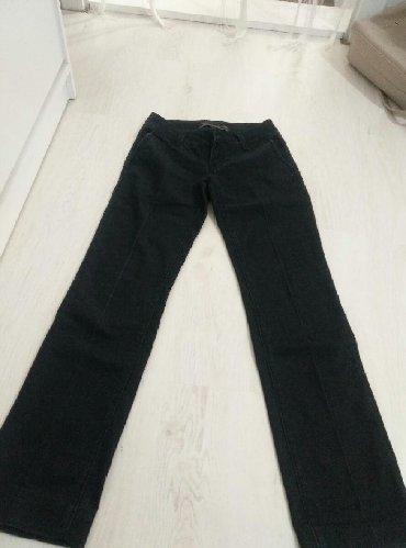 Poslovne pantalone - Srbija: Poslovne pantalone na straftu, nošene ali očuvane. Veličina 26