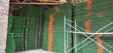 футбольные-поля-аренда в Кыргызстан: Строительные леса Леса строительныеАренда Турецкие лесаАренда турецких