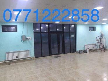 Сдаю Помещение 135 кв м район Боконбаева/Белинского новое одноэтажное  в Бишкек