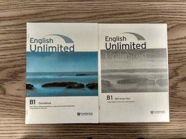 Bakı şəhərində English Unlimited B1+Workbook satılır. Işlənmiyib. Içi heç yazılmıyıb.