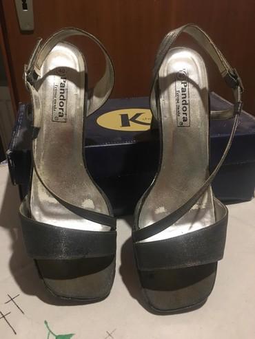 Sandale srebrne - Pancevo