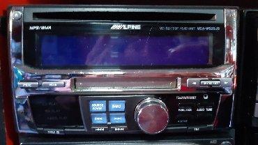 chrysler alpine в Кыргызстан: Alpine . 2din  CD,mp3, mini disk. Конвертор в подарок