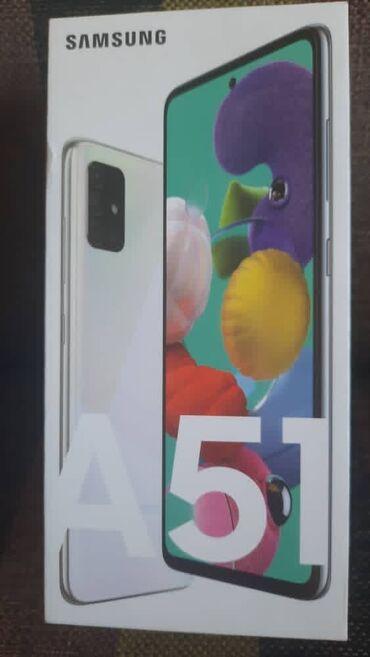 Новый Samsung A51 64 ГБ Белый