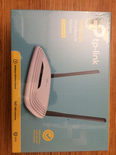 """Router """"TP-Link Tl-wr841n""""Performance: 300Mbps wireless speed ideal"""
