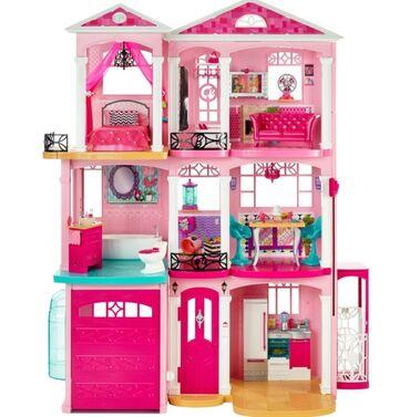 barbie kuklalari - Azərbaycan: Barbie evi -120sm,3mertebe,qırılmaz plasmas Türkiyeden getirilmişdir