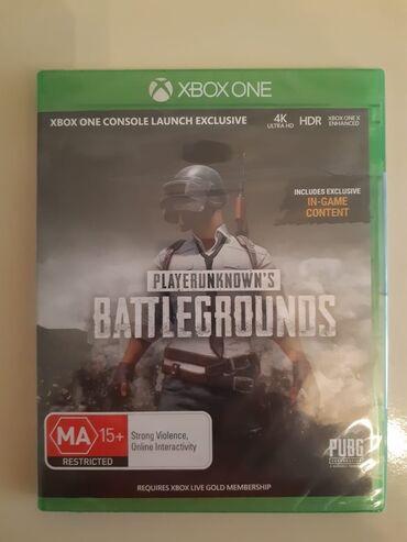 Xbox 360 & Xbox - Azərbaycan: XBOX ONE üçün pubg playerunkown's battlegrounds oyunu. Yenidir tam