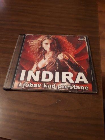 Indira radic ljubav kad prestane cd  original ocuvan izdanje grand 200 - Beograd