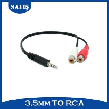 Sumqayıt şəhərində Stereo to RCA kabel