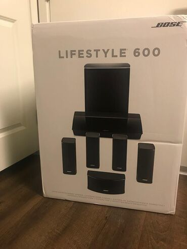 Bose Lifestyle 600 Home Entertainment System, works with Alexa -