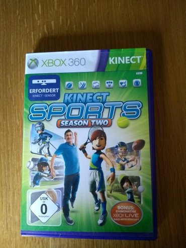 Xbox 360 kinect orginalne igrice + the total body tracking system. - Sombor