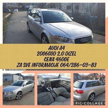 Audi a3 1 8 tfsi - Srbija: Audi A4 2 l. 2006 | 260000 km