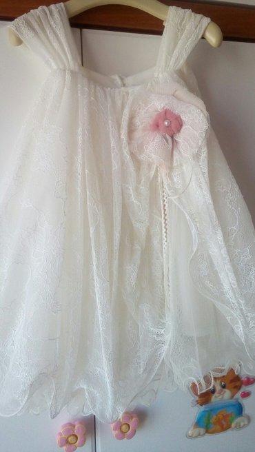 Φορεμα βαπτιστικο ασλανης.αγορασμενο 115.νουμερο 18μηνων