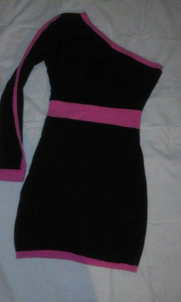 Crna haljina na jedno rame velicina 36 - Obrenovac