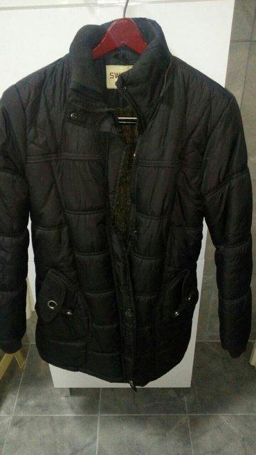 Tamno braon zimka jakna , velicina l - Beograd