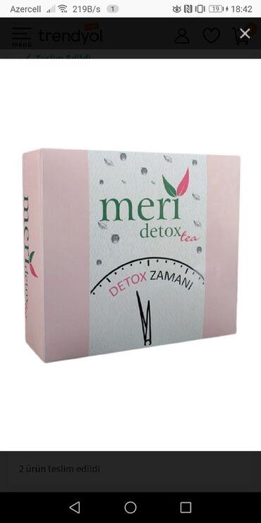 Meri Tea. Yenidir açılmayıb qutusu. 70 manat tam orjinaldir