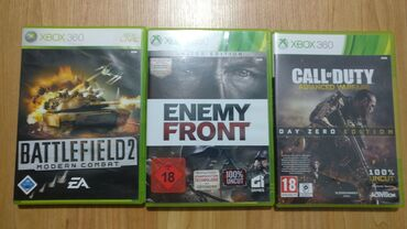 Xbox 360 & Xbox | Srbija: Call of Duty Adwanced Warfare + Enemy Front + Battlefield 2 Modern