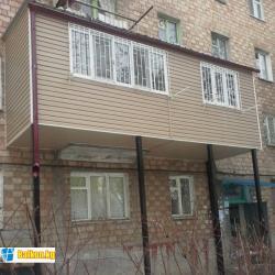 Мы занимаемся все видами работ по благоустройству балконов и