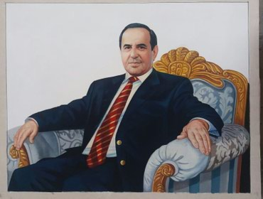 Xırdalan şəhərində Kətan üzərində yağlı boya ilə portret qəbul olunur