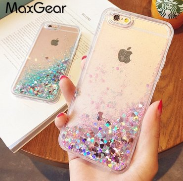 """красивые-чехлы-на-телефон в Кыргызстан: Распродажа !!!Супер красивые чехлы """"Жидкий блеск """" только на 7 iphone"""