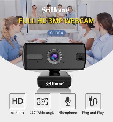 3х мега пиксельная веб камера srihome model sh004  описания на фото
