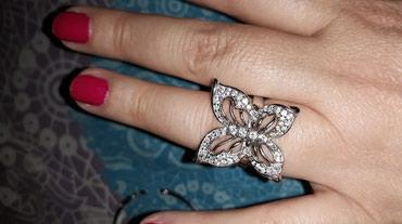 Srebrni prsten ,leptir - Belgrade