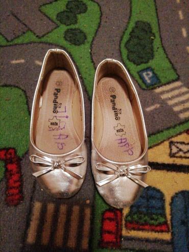 Dečija odeća i obuća - Barajevo: Srebrne baletanke br 28