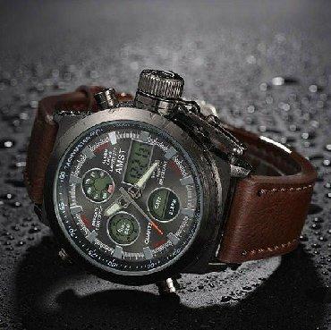 Армейские часы AMST 3003   Водонепроницаемый  Аналоговый+цифровой  Кв