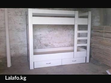 детский двух яростный кровать.Мебель на заказ любой сложности корпусны в Бишкек