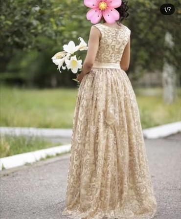 дополнительные фото в Кыргызстан: Продаю шикарное платье, фото не передает всей красоты! Было сшито на з