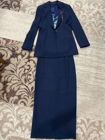 Продаётся костюм б/у  В отличном состоянии Одевали пару раз Размер 44-