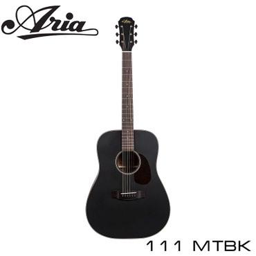 Гитара ARIA-111 MTBK в отделке с в Бишкек