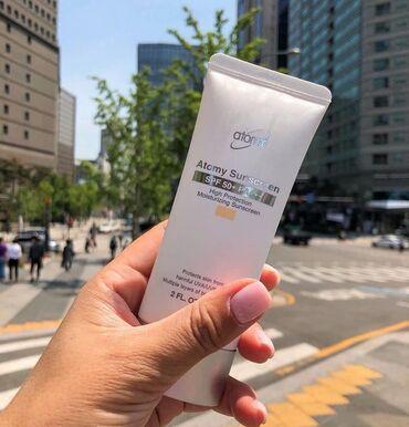 vaz te в Кыргызстан: Солнцезащитный крем от корейского бренда Атоми. С тоном и без тона