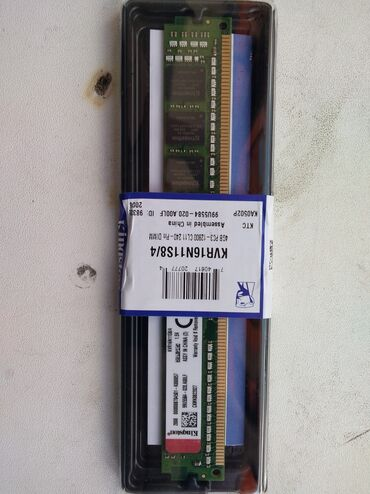 Huawei p10 32gb ram 4gb - Srbija: Kingston DDR3 4GB 1600MHz KVR16N11S8/4 ram memorija