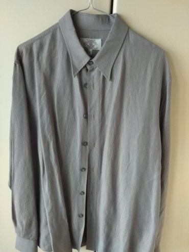 ARMANI, πουκάμισο, γκρι, large, σχεδόν αφόρετο, από την προσωπική μου
