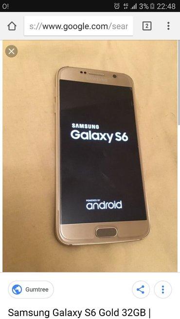 Samsung S 6 gold 32g 4G  Всё отличном состоянии коробка,зарядка,наушни в Токмак