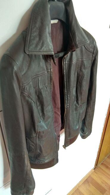 Ženska odeća | Lazarevac: Braon kozna jakna____________Lep zenska kozna jakna braon boje, malo