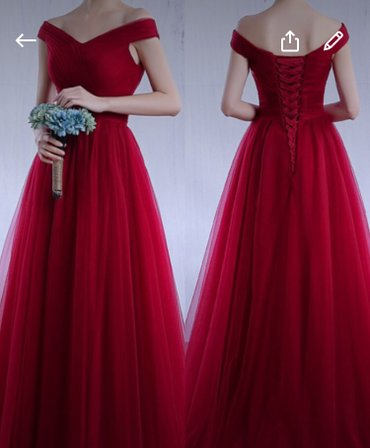 Сдаётся на прокат платье. цвет темный в Бишкек
