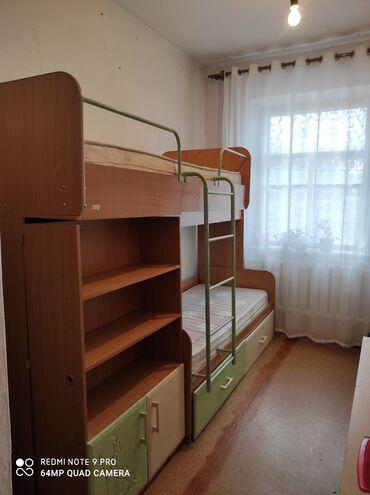 Гарнитуры в Кыргызстан: Срочно продаю 2 яр.кровать+шкаф,кровати большие даже для