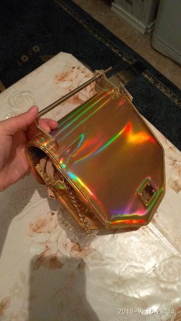 Новая сумочка .золотистая с железной в Бишкек