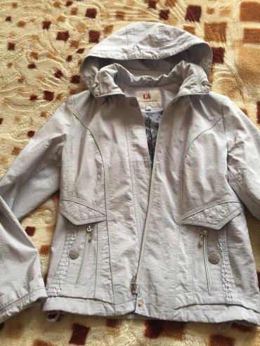 легкая курточка (плащевка) на весну 46,48 900 сом в Бишкек