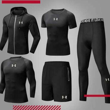 Рашгард ( комплект 5в1 )термобельёкомпрессионная одеждавесогонка в