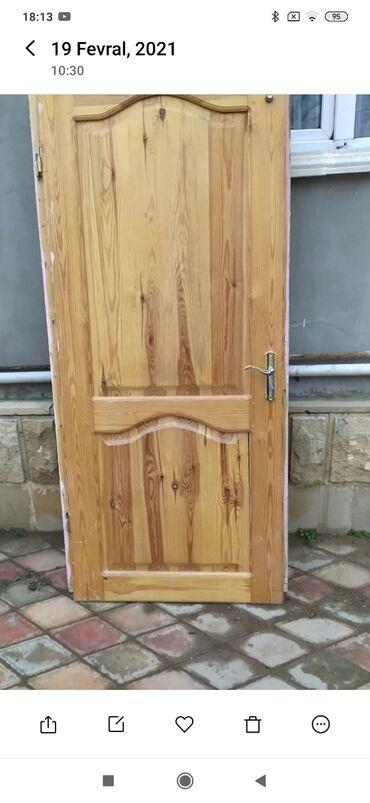 Дом и сад - Дюбенди: Двери | Дерево | Азербайджан | С рамой, С замком